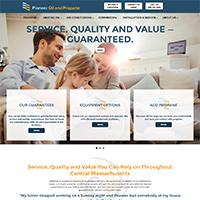 Pioneer new website