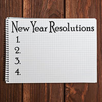 New Year resolution 2018