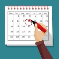 Marking calendar