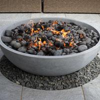 Modern fire pit