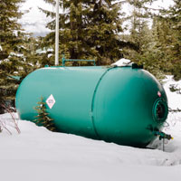 Things to remember about your propane tank this winter